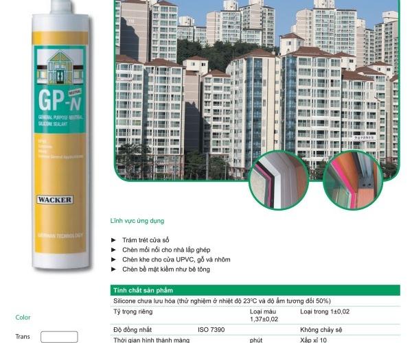 silicon wacker GP-N trung tính